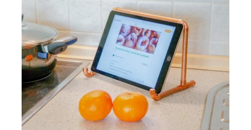 Haz un soporte vintage para tablet