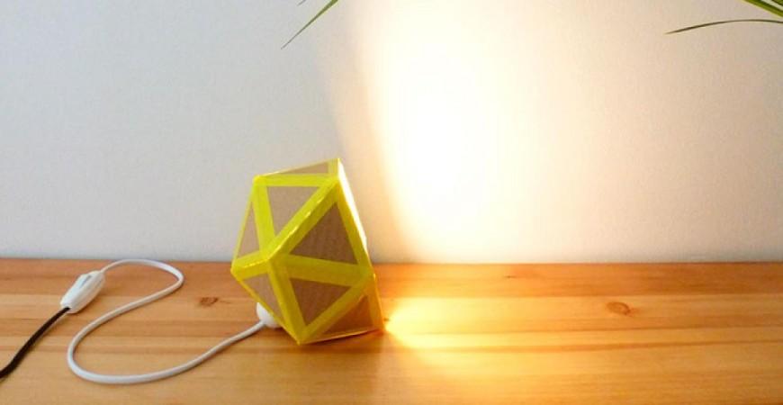 ¿Te gusta el origami? Pues ya tienes lámpara nueva