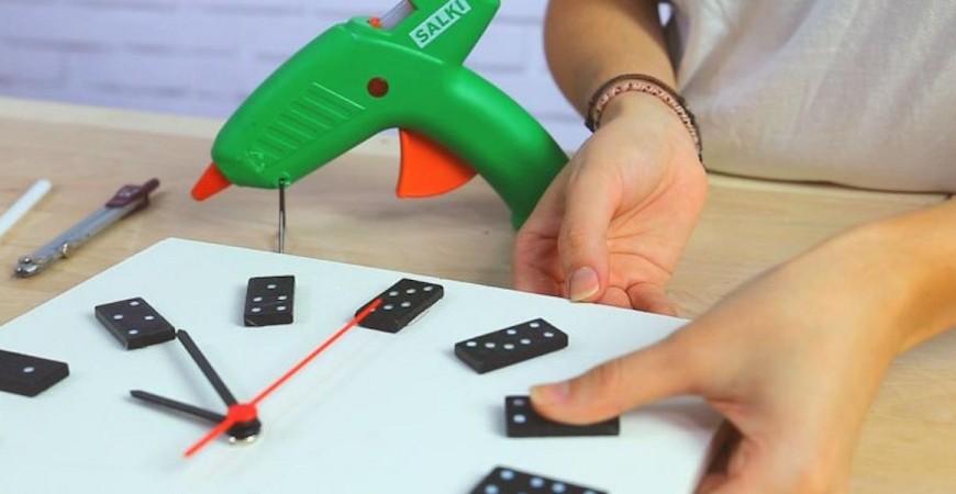 ¿Un reloj con un dominó? ¡Por qué no!