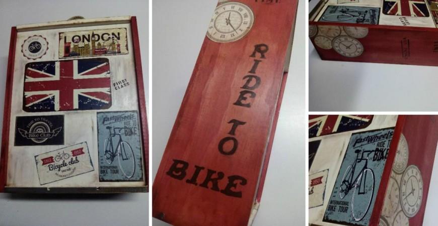 Personaliza una caja de vino